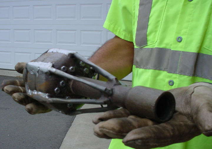 Tadpole Nozzle used clean pipes - sewage Collection