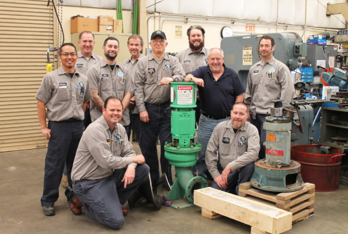 Oro Loma Maintenance Department Staff