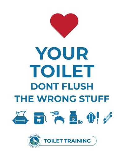 Love Your Toilet - Dont Flush The Wrong Stuff
