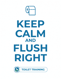 Keep Calm and Flush Right
