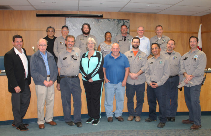 Oro Loma Board recognizes Maintenance Department staff