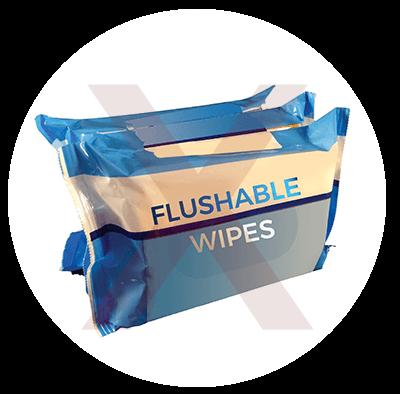 dont flush flushable wipes
