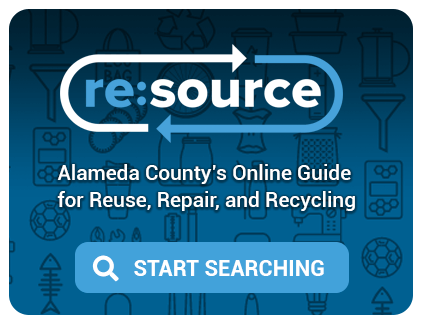 resource - Alameda County's online guide for reuse, repair, and recycling