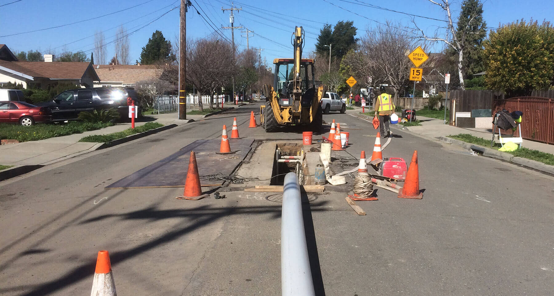 Sewer Pipe Replacement Project